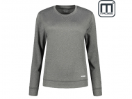 Macseis-MS1106-Creator-Powerdry-Crewneck-Sweat-Woman-Black_Melange-Front