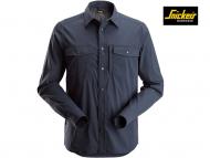 Snickers-8521-Shirt-met-Lange-Mouwen_Navy-9500-Voorkant