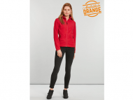Gildan-PF800L-polar-fleece-jacket-hammer-for-her-red-front